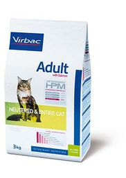 Virbac Adult with Salmon Neutered & Entire Cat 3 kg