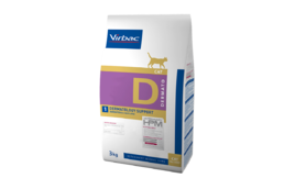 Virbac HPM Dermatology Support Cat 3 kg