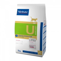 Virbac Veterinary HPM Urology 1 Cat 3kg