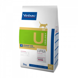 Virbac HPM Urology Urinary WIB Cat 3 kg