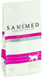 Sanimed Anti-Struvite kissoille 4,5kg