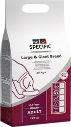 Specific CXD-XL Adult Large & Giant Breed 2,5 kg