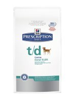 Hills Prescription Diet Canine T/D kuivaruoka 10 kg